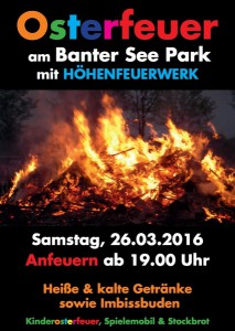 Osterfeuer Banter See Park